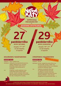 jesiennie plakat