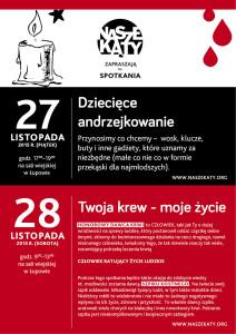 krwiodawstwo plakat