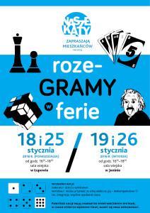 rozeGRAMY_ferie_plakat