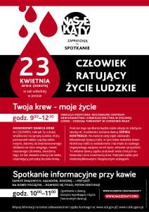 krwiodawstwo2016  plakat
